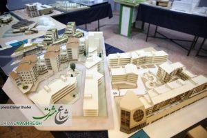 نمایشگاه آثار برتر معماری دانشگاه ها و مراکز آموزش عالی رشت+گزارش تصویری