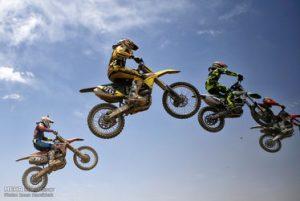 تصاویر مسابقات کشوری موتور کراس