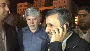 احمدی نژاد اجازه ملاقات با معاونش را نیافت / وثیقه ۵۰ میلیاردی بقایی تامین شد + عکس