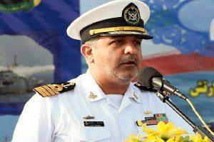 پیام رزمایش دریایی ارتش صلح و دوستی در حوزه دریای کاسپین است