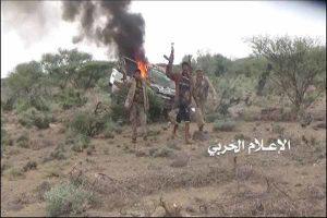 یمن پایگاه نظامی عربستان را در کنترل گرفت