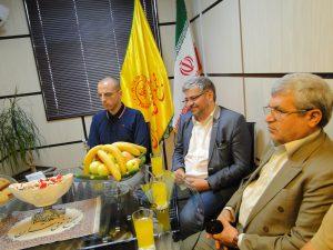 پروفسور فرانسیسکو و پیرونی از اساتید دانشگاه تورین ایتالیا از مجتمع فنی تهران بازدید کردند