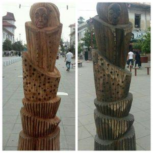 انتقال مجسمه های چوبی؛ با برنامه یا پاک کردن صورت مساله ؟!