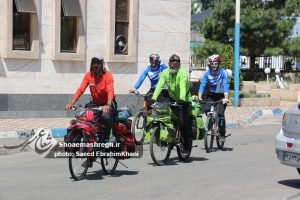 چهارمین دور دوچرخه سواری استانهای ایران در رشت/گزارش تصویری
