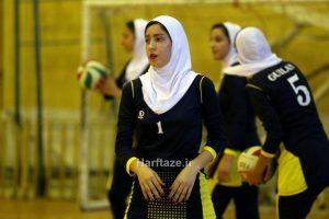 گزارش تصویری از تمرین تیم والیبال امید دختران گیلان