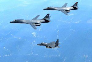 بمبافکنهای هسته ای آمریکا به سمت آسیا اعزام شدند