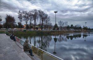 برگزاری مسابقه ماهیگیری خانوادگی در بوستان دانشجوی رشت