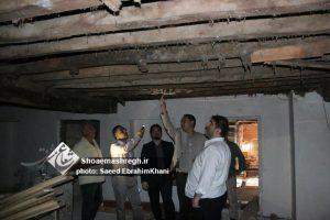بازدید مدیرعامل سازمان عمران و عضو شورای شهر رشت از مسجد حاج سمیع +تصاویر
