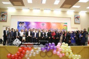 گزارش تصویری جشن پاسداشت خبرنگاران و رسانه های حوزه ورزش و جوانان گیلان
