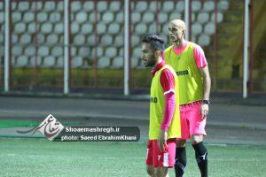 تمرین روز یکشنبه سپیدرود با حضور پیام صادقیان/گزارش تصویری