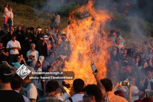 آغاز سال نوی دیلمی و آیین بومی «نوروز بَل»در هالی دشت املش/گزارش تصویری