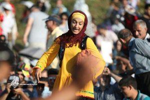 گزارش تصویری از نمایش مشعلکه «نوروزبل» در هالیدشت
