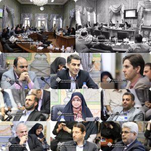 گزارش تصویری اولین جلسه علنی شورای پنجم شهر رشت