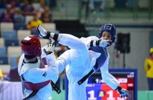 کسب مدال برنز طیبه پارسا در رقابتهای داخل سالن و هنرهای رزمی آسیا