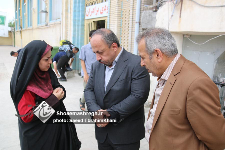 گزارش تصویری بازدید مسعود نصرتی شهردار منتخب رشت از پروژه باز افرینی خواهر امام (س)