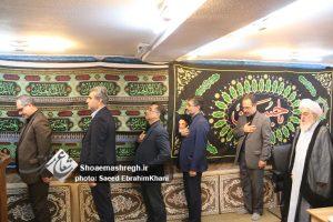 گزارش تصویری اولین روز عزاداری ماه محرم در بیت آیت الله قربانی