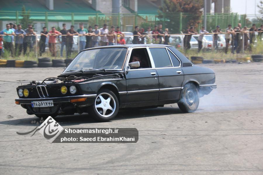 گزارش تصویری گردهمایى هیات موتورسوارى و اتومبیلرانى در  پیست سردارجنگل رشت