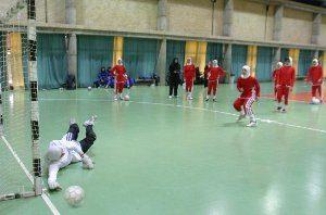 برنامه شهرداری رشت در مسابقات فوتسال بانوان