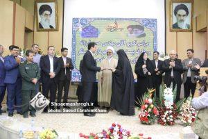 گزارش تصویری آیین تکریم حسن فرزانه و معارفه مهندس مجید زاد حسینی به عنوان شهردار سنگر