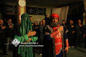 گزارش تصویری اجرای نمایش مولای عشق در حسینیه شاهد و ایثار بنیاد شهید با حضور شهردار رشت