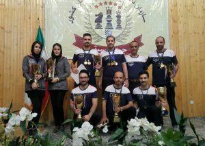 تیم نظام مهندسی ساختمان گیلان قهرمان ششمین دوره مسابقات شطرنج نظام مهندسی کشور شد