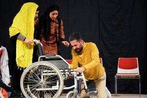 آغاز جشنواره تئاتر معلولین منطقه ایی کاسپین در رشت