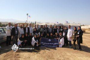 گزارش تصویری اختصاصی از بیمارستان صحرایی دانشگاه علوم پزشکی واقع در شهر ثلاث باباجانی استان کرمانشاه