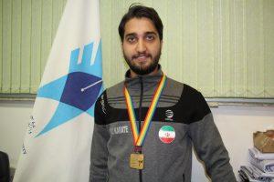 دانشجوی دانشگاه آزاد اسلامی رشت قهرمان مسابقات کاراته ۲۰۱۷ جهان