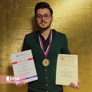 کسب مدال طلا، جایزهی ویژه و دیپلم افتخار مسابقات جهانی اختراعات آلمان توسط جوان مخترع گیلانی