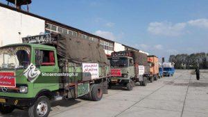 گزارش تصویری از فعالیت های موسسه کردهای گیلان برای زلزله زدگان کرمانشاه