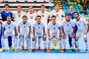 حریفان فوتسال ایران در جام ملتهای آسیا مشخص شدند