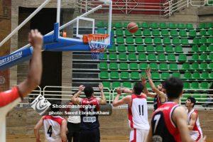 گزارش تصویری تیم امید هیات بسکتبال گیلان مقابل تیم امید کردستان