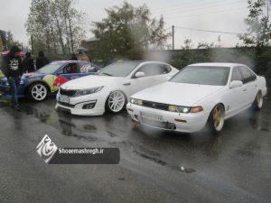گزارش تصویری همایش پائیزه خودروها در پیست سردارجنگل رشت