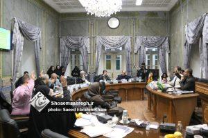 گزارش تصویری جلسه شانزدهم شورای شهر رشت