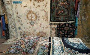 """استان گیلان به پایگاه اصلی تولید """"فرش ابریشمی"""" کشور تبدیل میشود"""