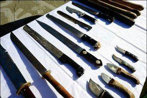 «چاقوی ضامندار و ساتور» از لیست سلاح سرد خارج شدند