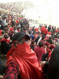 شور و هیجان حضور در استادیوم غیرقابل وصف است