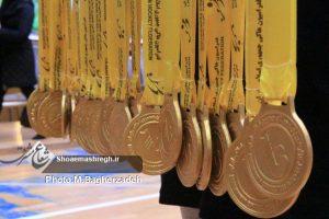 گزارش تصویری اختتامیه مسابقات هاکی بانوان/ دختران هاکی گیلان برای اولین بار قهرمان کشور