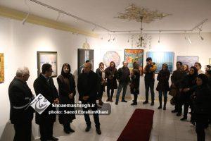 """گزارش تصویری افتتاح """"نگارخانه الهی"""" در رشت"""