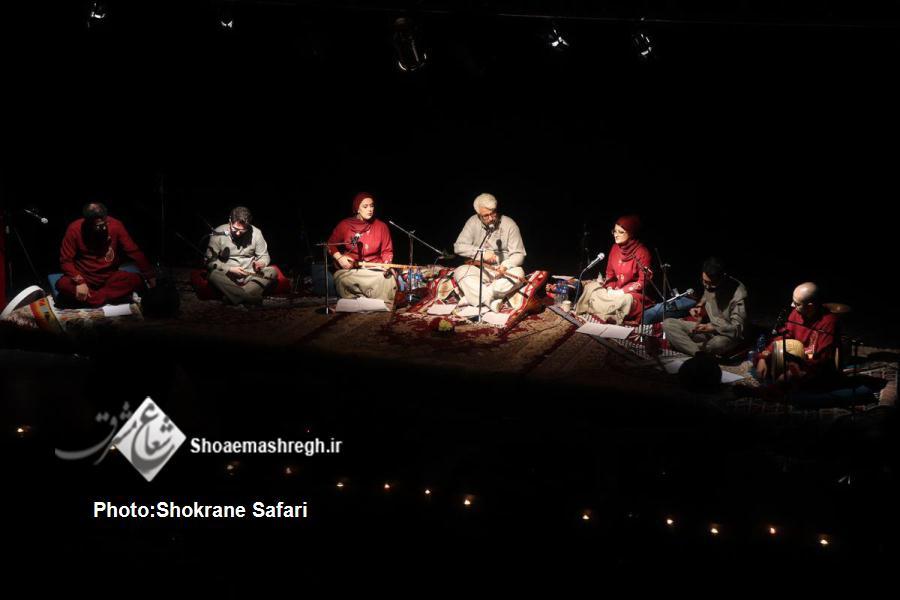 """گزارش تصویری کنسرت موسیقی سنتی """"عشق گوید"""" گروه عُزال"""
