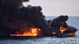 جدیدترین خبر درباره نفتکش ایرانی/ محل قرار گرفتن لاشه سانچی پیدا شد
