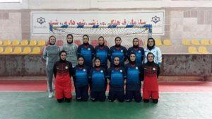 شکست دختران شهرداری رشت در مشهد