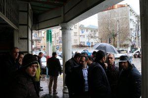 هماهنگی نیروی انسانی و ماشین آلات ستاد بحران منطقه یک شهرداری رشت به روایت تصویر