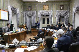 گزارش تصویری بیست و پنجمین جلسه علنی شورای شهر رشت با حضور شهردار