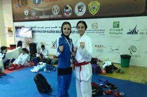 یک مقام پنجمی رهآورد گیلانیها از کاراته وان دبی ۲۰۱۸