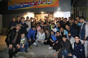 تصاویر اعزام تیم منتخب جوانان و بزرگسالان استان گیلان به مسابقات انتخابی تیمهای ملی
