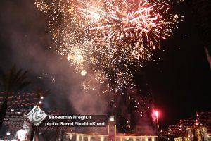 گزارش تصویری نورافشانی و جشن انقلاب در پیاده راه فرهنگی رشت