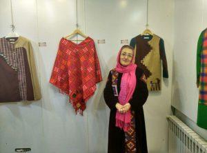 نمایشگاهی برای عینیت کاربرد پارچه دستباف و بافت سنتی لباس محلی در لباس امروز