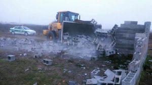 بیش از ۱۱ هکتار از اراضی ملی و ساحلی این منطقه رفع تصرف شد
