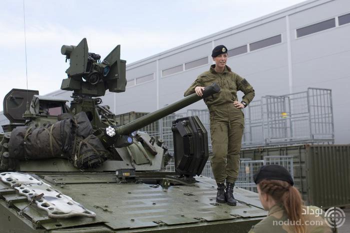 رسوایی اخلاقی سربازان دختر و پسر اسرائیلی در داخل تانک ها + عکس ها